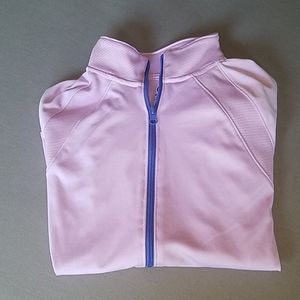 Girls lilac Adidas jacket